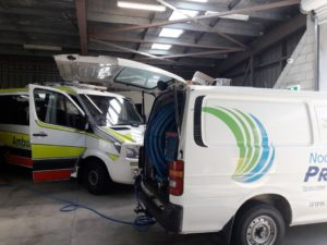 Noosa Ambulance Upholstery Cleaning