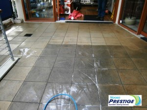 Results for cleaning outdoor paving by Noosa Prestige